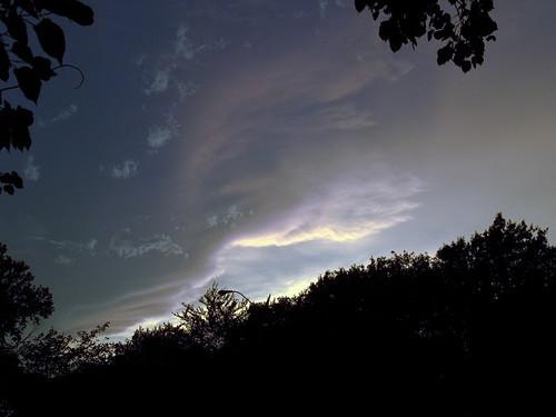 Sunset, June 12, 2009