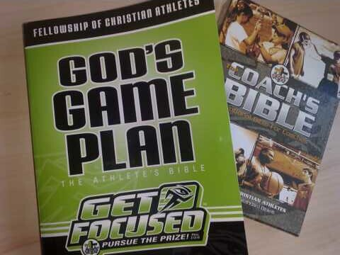 God's game plan (The Athlete's Bible)