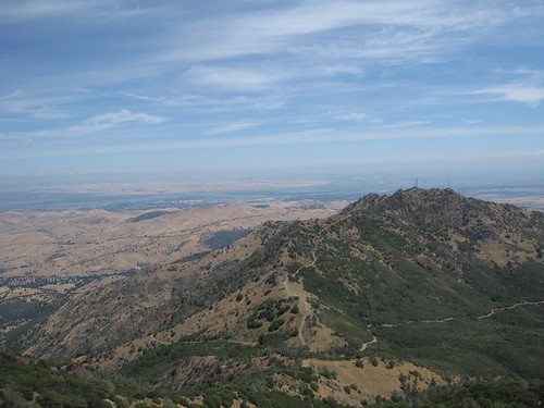 North peak (3557ft) view