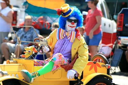 Clown - Aranasa Pass Shrimporee Parade