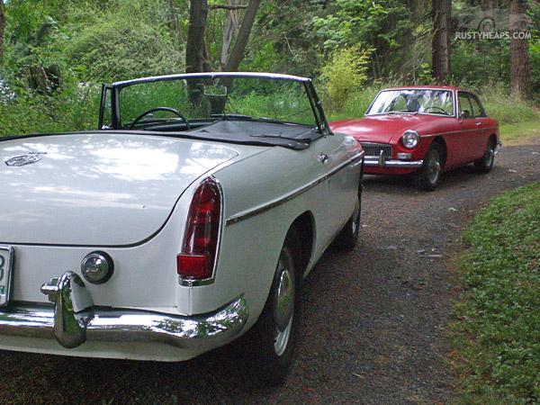 1963 MGB & 1967 MGB GT