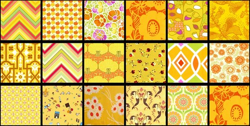 yellow fabrics