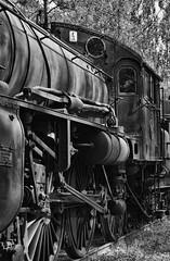 Locomotive (Wiking66) Tags: old bw white black wheel museum silver iron pentax sweden steam sj pro locomotive hdr staten patrik topaz adjust lok smrgsbord hjul tg lule jrnvg norrbotten engman efex nglok karlsvik jrnvgar k20d
