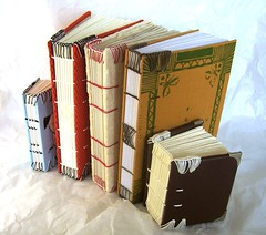 books with coptic double headbands