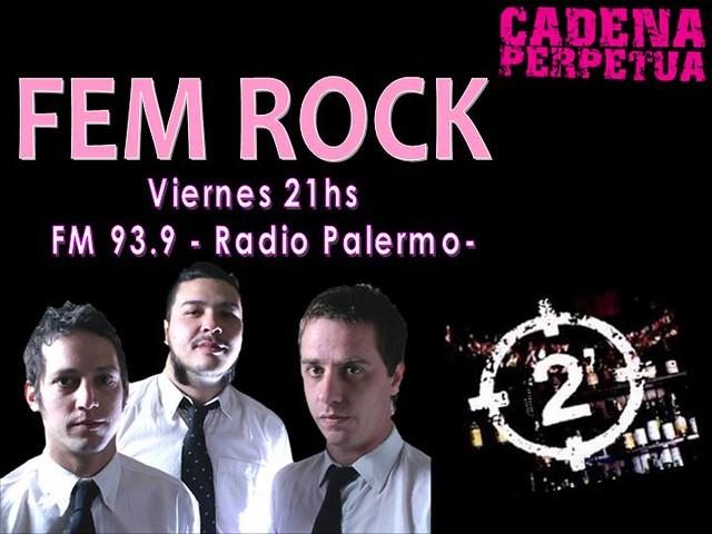 Programa Viernes 10 de Julio by FEM RocK