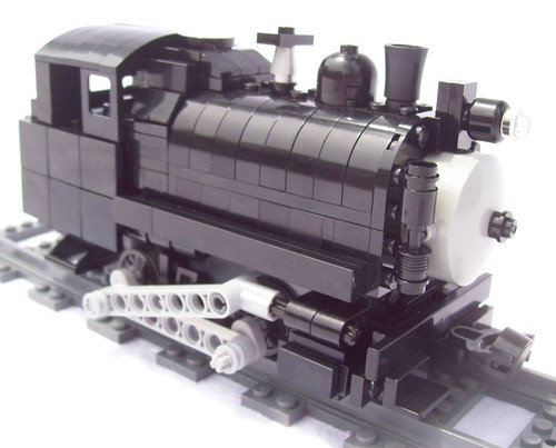 Lego Power Functions Vulcan Iron Works 0-4-0T by Jason Steinhurst
