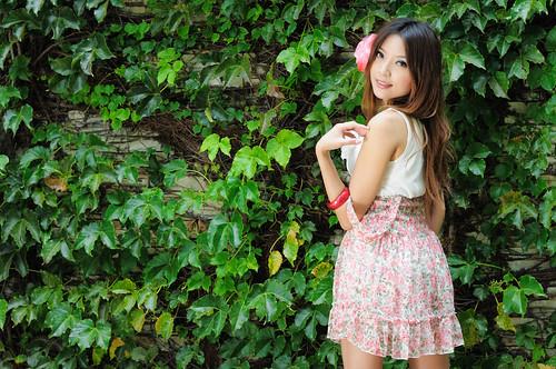 [フリー画像] 人物, 女性, アジア女性, 台湾人, 201005031700