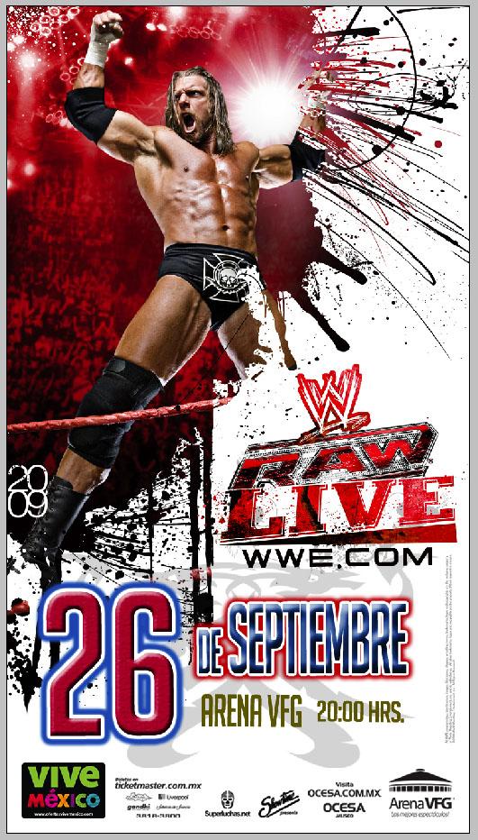 WWE RAW Live México Septiembre 2009 - Guadalajara, Jalisco