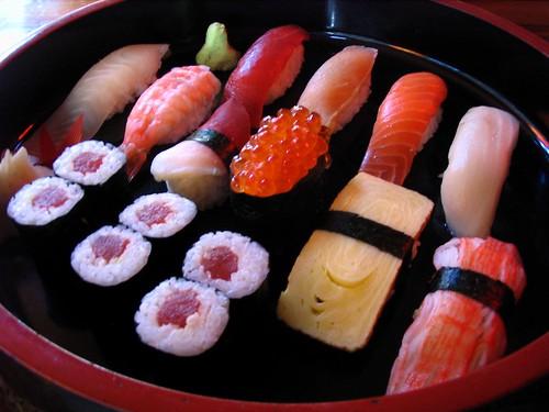 Sushi at Daio