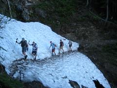 Expert gully crossing skills