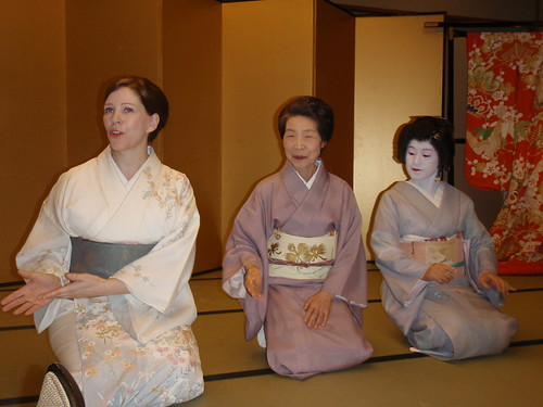 Tres geishas muy diferentes