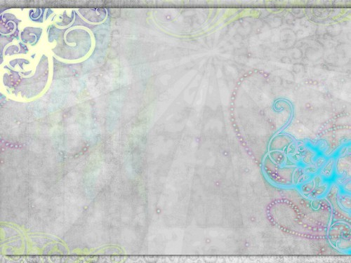 Watercolor Flourish Desktop Wallpaper