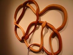 untitled (snake wreath) Charles Hobbs 2008 (charleswesleyhobbs) Tags: wood sculpture art charles charlie hobbs ollman fleisher