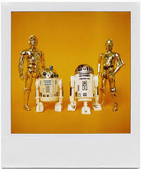 Evolution (tubes.) Tags: toy toys starwars r2d2 c3p0 kenner figures droids actiionfigure