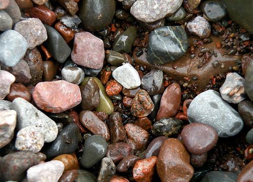 beach rocks, Lutsen, MN