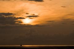 Crosby beach (Sylvain Gibouret) Tags: sunset liverpool crosbybeach