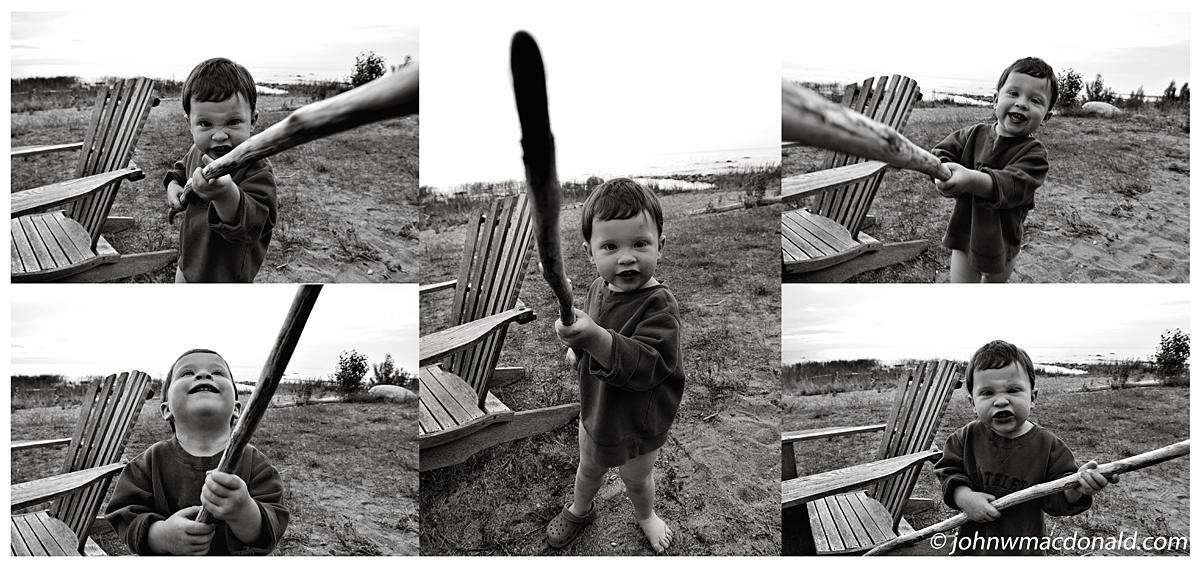 beach stick