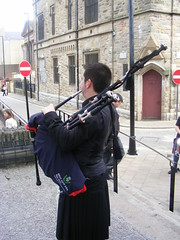 Bready Ulster Scots Piper on Derry City Walls during the Maiden City Festival (seanfderry-studenna) Tags: city ireland girls male men boys festival musicians female dance women uniform dancers dancing artistic north group performance performing arts culture scottish social historic highland entertainment londonderry drummer walls piper tradition unionist loyalist northern kilts maiden protestant cultural apprentice derry scots reel ulster bready doire