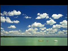 Balaton, Summer :) (Botond Horvth) Tags: world life city travel blue summer vacation sky cloud sun lake hot color green tourism nature water season relax landscape interesting nikon europe hungary peace yacht weekend famous august harmony polar nikkor 2009 balaton espritu magyarorszg cokin d90 botond horvth balatonalmdi 1685mm
