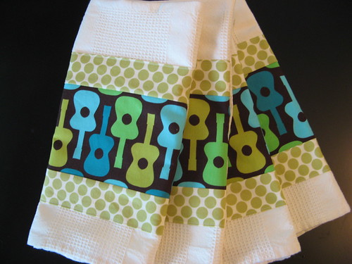 Guitar Dishtowels