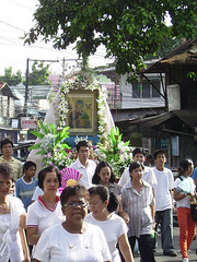 Mother of Perpetual Help procession (cerezomarksamuel. Que es la vida.?) Tags: upload kay sa kuya pag salamat onie