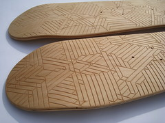 Decked2 (Thomas Forsyth) Tags: wood geometric design woodwork graphic skateboarding geometry board carving carve deck skate skateboard thomasforsyth owengildersleeve thedeckedproject