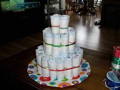 Diaper Cake - Step 4