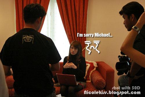 sorry michael