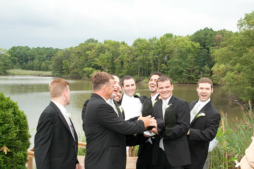 Lifting the Groom