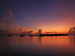 Miami's dream Sunset (iCamPix.Net) Tags: sunset canon landscape florida miami professionalphotographer keybiscayne 8380 crandonparkmarina markiii1ds utstandingimages