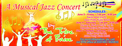 Jazz (chardang) Tags: people design concert hands notes jazz ticket musical sample tribe universe praise lifting dadang the charrie