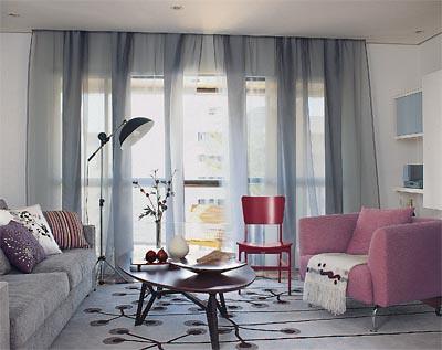 fotos de cortinas para sala