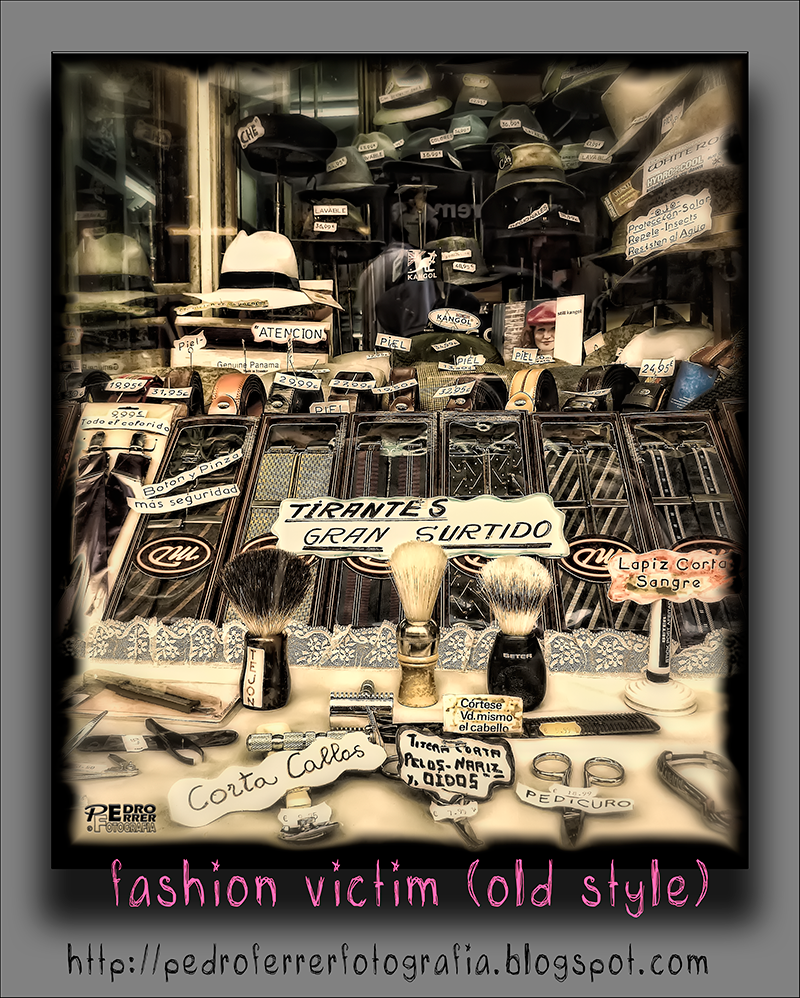 Fashion victim (old style)