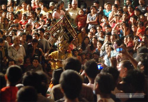 Indra Jatra - Dance