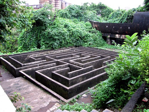 Concrete Maze @ Sion Fort Garden | Flickr - Photo Sharing!
