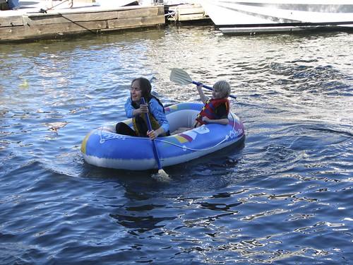 rubber raft races