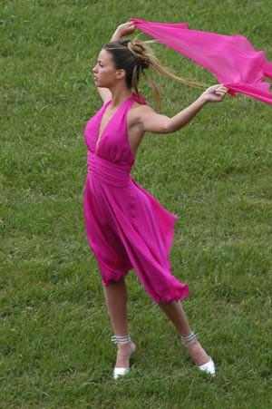modelo: vestido de 15 anos