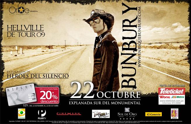 Enrique Bunbury - Hellville De Tour 09