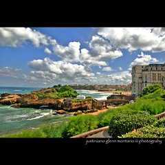 Biarritz France (j glenn montano 3) Tags: france french spain traditional glenn country border 1001nights hemingway region basque department hdr province bayonne biarritz montano pyrnes atlantiques adjacent aquitaine anglet thesunalsorises justiniano labourd
