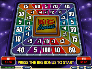 free Crazy Vegas slot bonus game