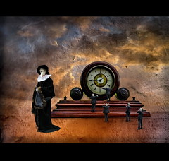 Time Warp (h.koppdelaney) Tags: life art history digital photoshop self energy symbol time philosophy warp mind future thinking awareness consciousness symbolism psychology archetype graphicmaster obramaestra