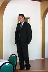 Groom Waiting (sara_newell) Tags: wedding martha fremont hugo gaspar santamara