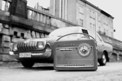 Ford Taunus 17M P5 Nordmende Transita (Niebieski Ptak) Tags: old ford radio taunus 17m p5 nordmende transita