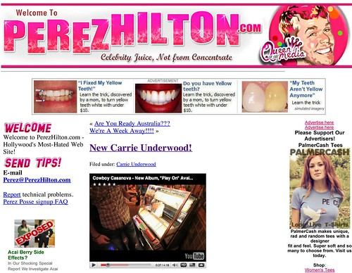 Perez Hilton_ New Carrie Underwood!