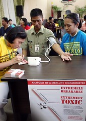 IMGBAGUIO CITY - BP Screening event (Health Care Without Harm-Asia) Tags: baguio baguiocity mayorbautista