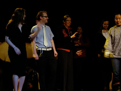 Diane, along with Heather & John Aronno, joined Masingka Singers & Dancers onstage during the True Diversity Dinner