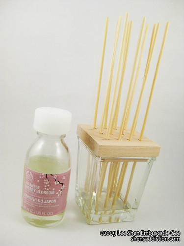 Japanese Cherry Blossom Reed Diffuser by you.