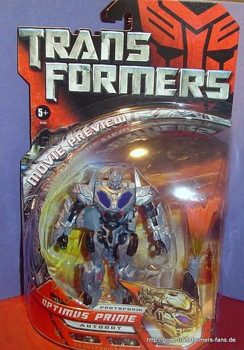Protoform Optimus-Prime Movie-2007  Deluxe Transformers 001