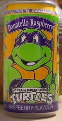 1990 Cadbury Schweppes TMNT soft drink - Donatello Raspberry (daniel85r) Tags: tmnt ninjaturtles