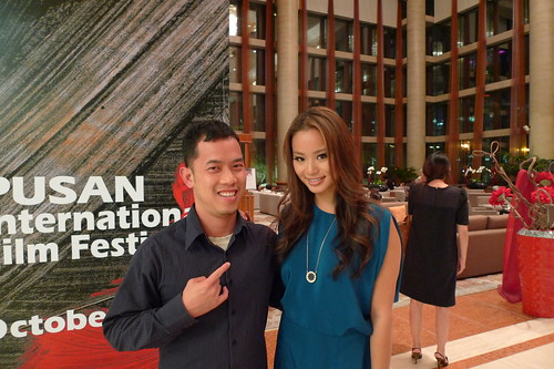 Ming Jin with Jamie Chung